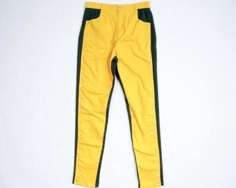 KENZO - Bicolor denim pants