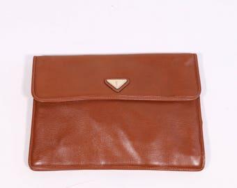 YVES SAINT LAURENT - Leather shoulder bag