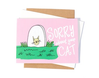 Greeting Card: Cat Sympathy