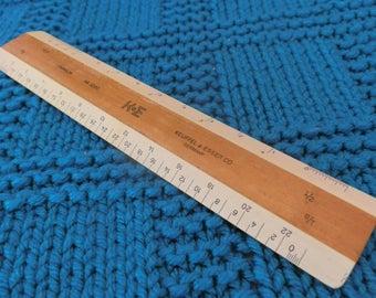 Keuffel & Esser Ruler--Paragon 56 3200--engineering ruler