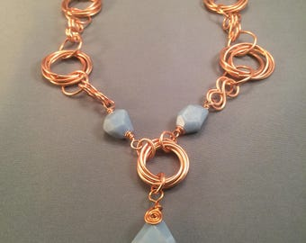 Copper Statement Piece