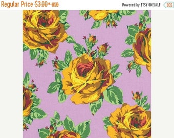 Sale Rose Lore in Violet from the Eternal Sunshine Collection by Amy Butler - Cotton Quilting Fabric