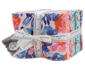 Voyage Fat Quarter Bundle by Kate Spain from Moda Fabrics, 38 Fat Quarters, Complete Collection, Floral Fabric