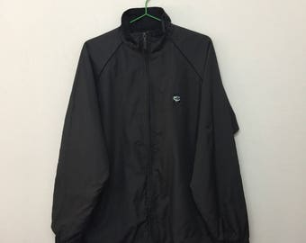 Vintage MCM Jacket/Mode Creation Munchen MCM Lightweight Plain Jacket/Black/Size L