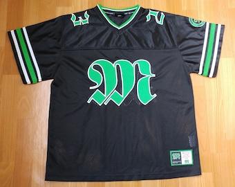 Takko Sports jersey, vintage streetwear shirt, t-shirt 90s hip-hop, old school 1990s hip hop OG gangsta rap, fubu gangsta rap, size M Medium