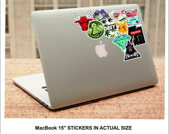 Sticker Pack Fifty #1 - 50 Random Stickers - Sticker Bombing Pack Fifty #1