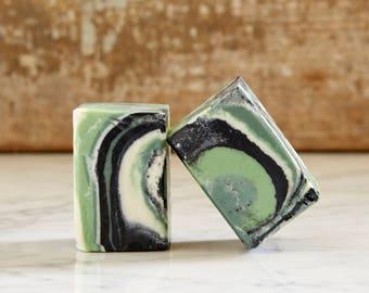 Soap, Hand Made Cold Process Custom Swirl Spa Bar