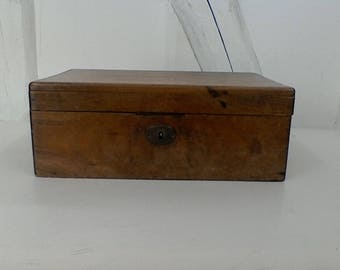 Vintage cherry storage box.