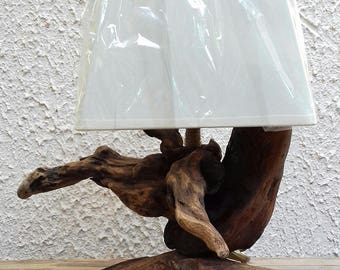 Driftwood lamp bark to ask