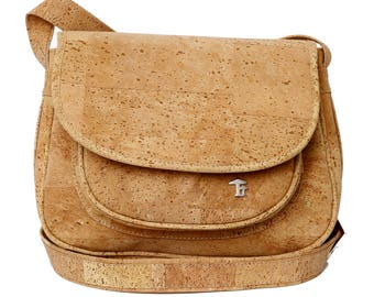 Crossbody bag, cork bag, cork bag, shoulder bag