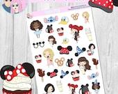 Park Fun deco sheet, planner stickers suitable for Happy Planner, Erin Condren planners, Bullet Journals etc