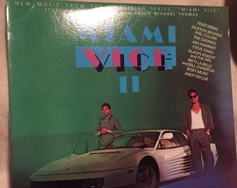 Miami Vice II album/lp