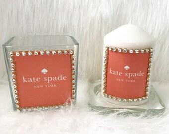 Candle & Glass vase set