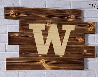 Wshington Huskies Wood Sign Wshington Huskies Wall art Wshington Huskies Gift Wshington Huskies Birthday Wshington Huskies Party wooden