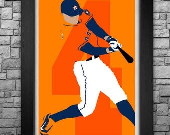 GEORGE SPRINGER minimalism style limited edition art print. Choose from 3 sizes!