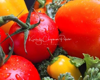 Tomato Peppers Kale Vegtables for the kitchen