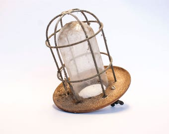 Vintage lantern from Dutch stable