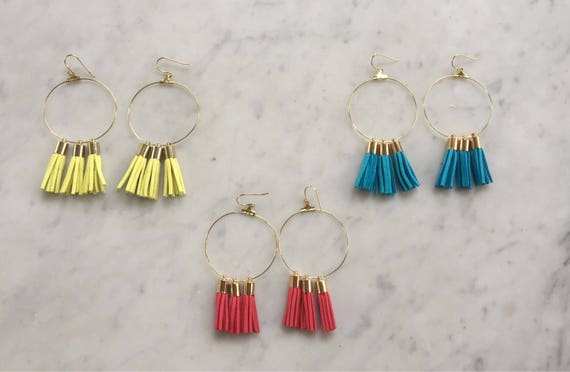 Earbobs - Three Tassel Earbobs