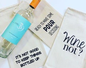 Wine Not Wine Bag