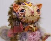 squirrel – Cute kawaii magical creature. Artist made doll, 5