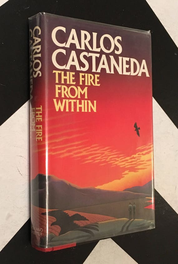 The Fire from Within by Carlos Castaneda vintage classic esoteric occult mystical rare book (Hardcover, 1984)