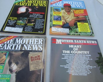 Mother Earth News, 1986 magazines, 1986 Mother Earth News, organic gardening, country living, recycling, Do it Yourself ideas. survivalist
