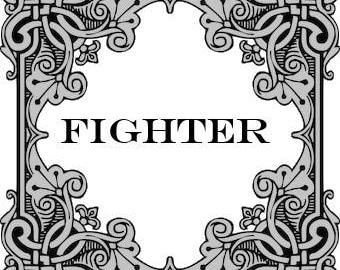 Fighter Cross Stitch Pattern