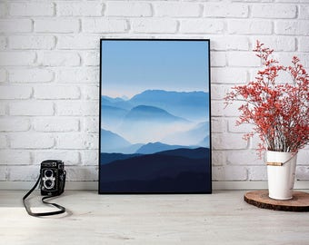 Poster abstract landscape photography