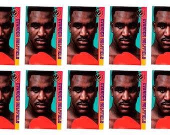 10 - 1993 Ballstreet Evander Holyfield Boxing Card Lot