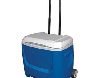 Custom Painted Cooler - 28 Quart Wheeled