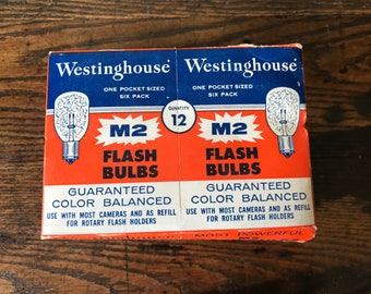 Original Westinghouse M2 Flash Bulbs