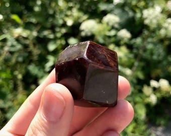 Garnet - Polished Polyhedron - India