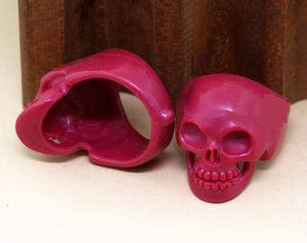 Wax Skull Ring for Investment Casting, Skull Jewelry, Casting Tools, Jewelry Making Tool, Casting Equipment, Tools for Casting