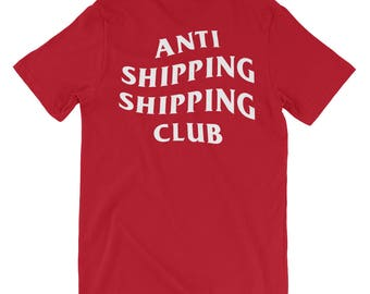 Anti Shipping Shipping Club Short Sleeve T-Shirt ASSC