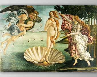 Birth of Venus, Birth of Venus Canvas, Birth of Venus Painting, Birth of Venus Art, Sandro Botticelli, Fine Art Giclee, Fine Art, 198