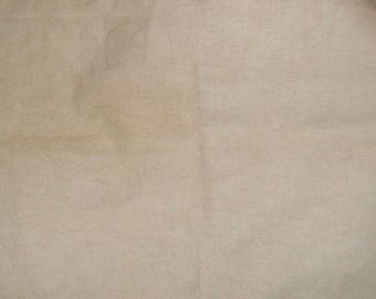 French Vanilla 28 count hand dyed evenweave cross stitch fabric