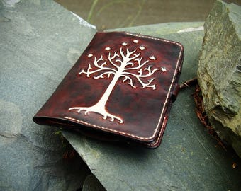 Tree of Gondor, leather kindle case, Lord of the Rings, kindle paperwhite case