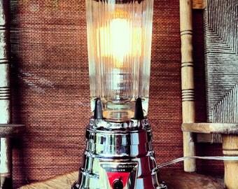 Repurposed Waring Lamp