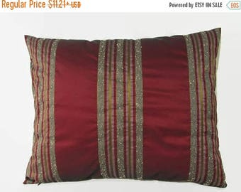 20%off Burgundy Pillow, Maroon Pillow, Maroon Bed Pillow, Maroon Pillow Cover, Burgundy Pillow Cover, Burgundy Decorative Pillow, Burgundy P