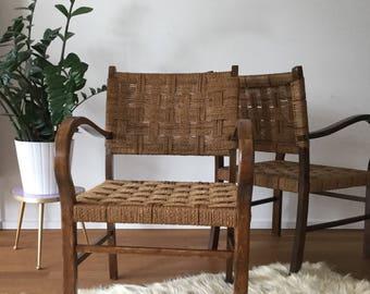 Wicker chairs Wicker Chair Basketchair Art Deco Bauhaus