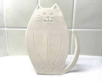 Cheeky Cat Stand Ornament