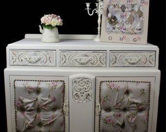 Country cottage oak sideboard