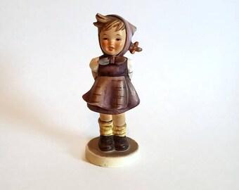 "Genuine Hummel Figurine  ""Which Hand?""  #258 TMK4"