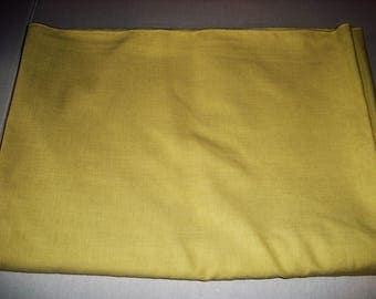 Yellow Buffet Tablecloth.