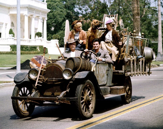 """Cast of """"The Beverly Hillbillies"""" From the CBS Television Sitcom - 5X7, 8X10 or 11X14 Publicity Photo (ZY-314)"""