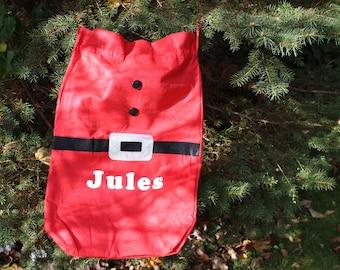 Personalized Santa Gift Sack