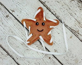 Summer Sale Starfish Lacing Card