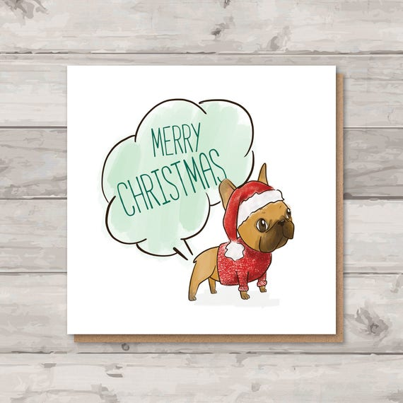 Christmas card in french joyeux noel personalized cards christmas french bulldog christmas card holiday cards rude christmas m4hsunfo