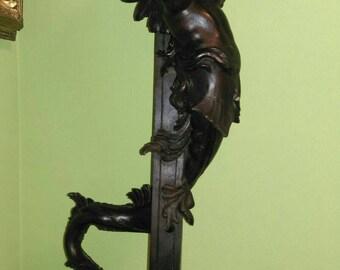 19Th mermaid sculpture