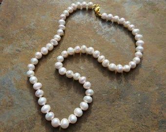 Vintage South Sea Pearl Necklace